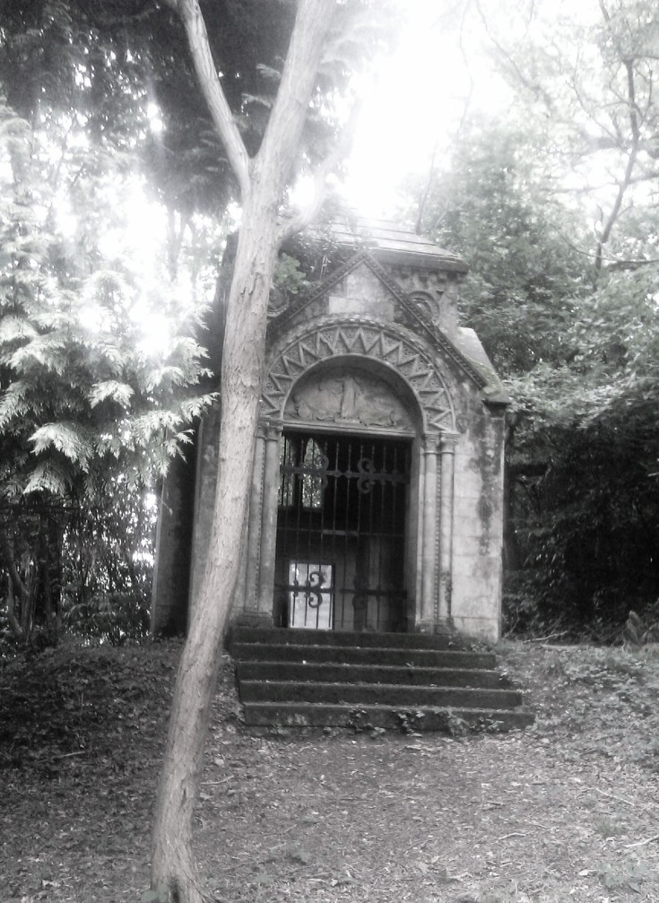 Tomb and tree