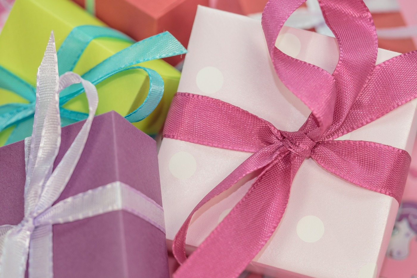 Photo of gift boxes