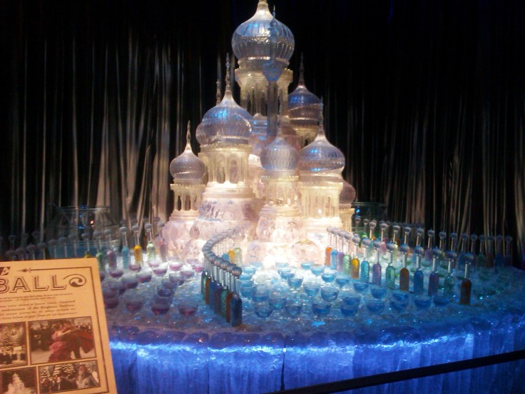 Drinks bar from the Yule Ball