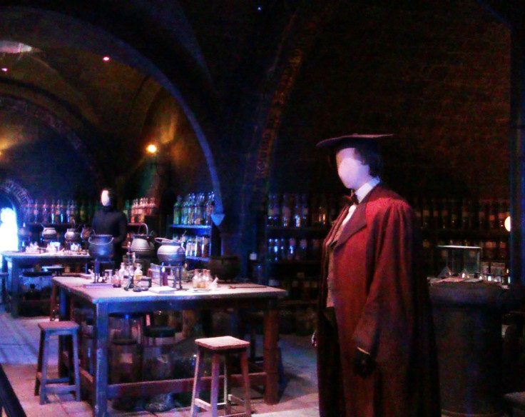 Potions with Severus Snape and Horace Slughorn costumes