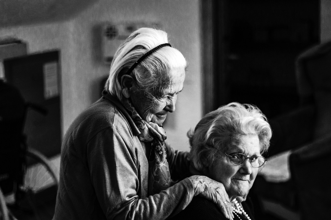 Two old ladies