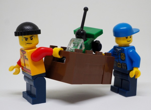 Lego moving men