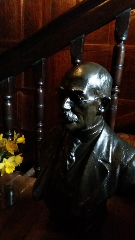 Bust of Rudyard Kipling