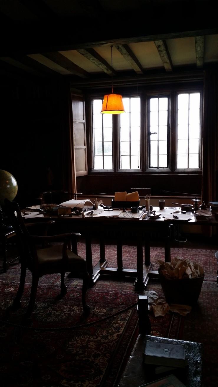 Rudyard Kipling's study at Batemans