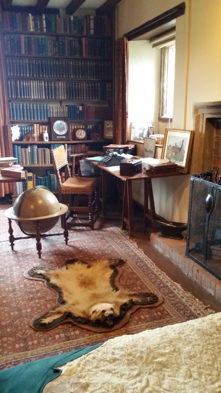 Rudyard Kipling's study at Batemans