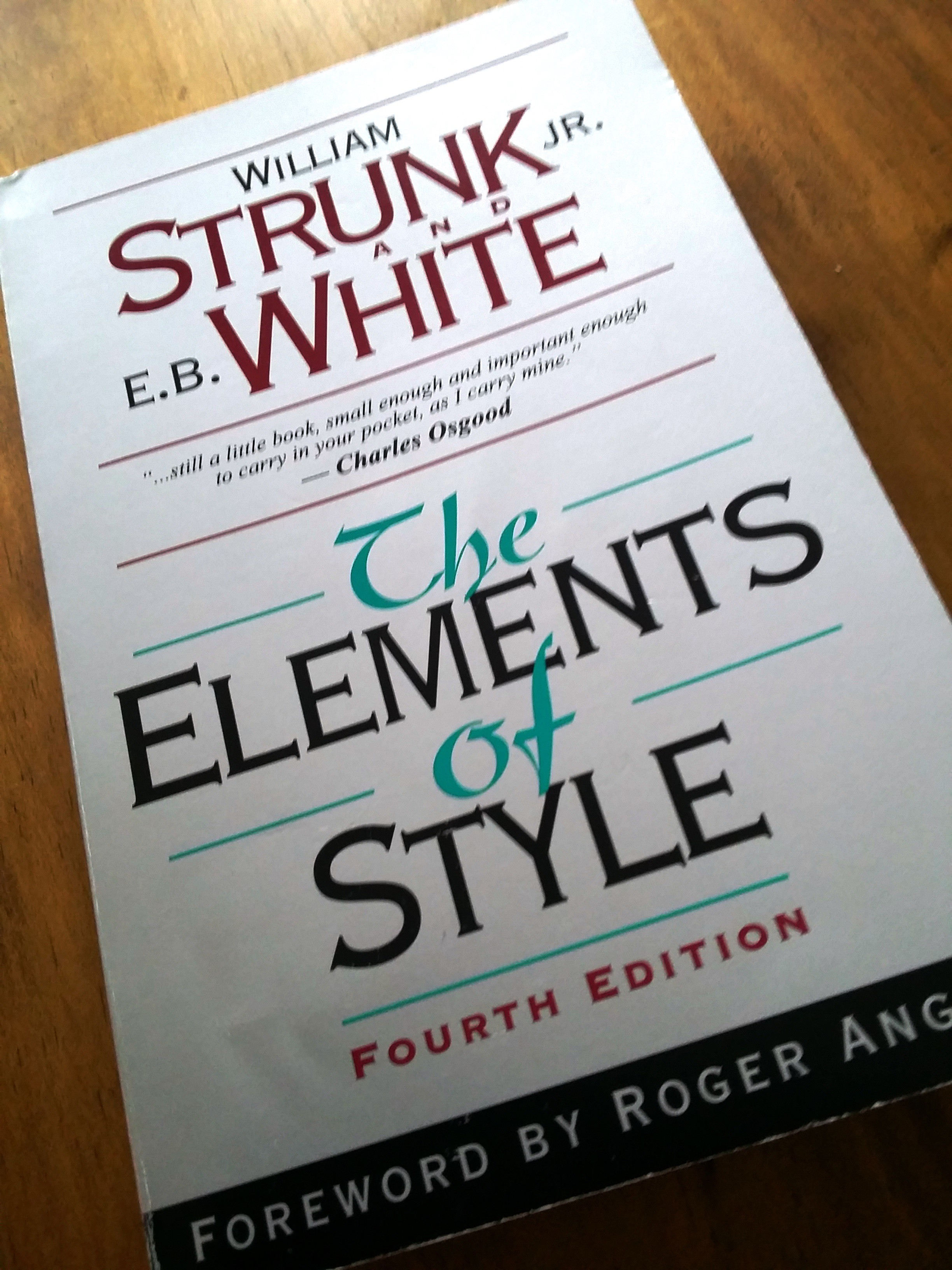 elements of style in writing Academic writing refers to a style of expression that researchers use to define the intellectual boundaries of their disciplines and their specific areas of expertise characteristics of academic writing include a formal tone, use of the third-person rather than first-person perspective (usually), a clear focus on the research problem under investigation, and precise word choice.