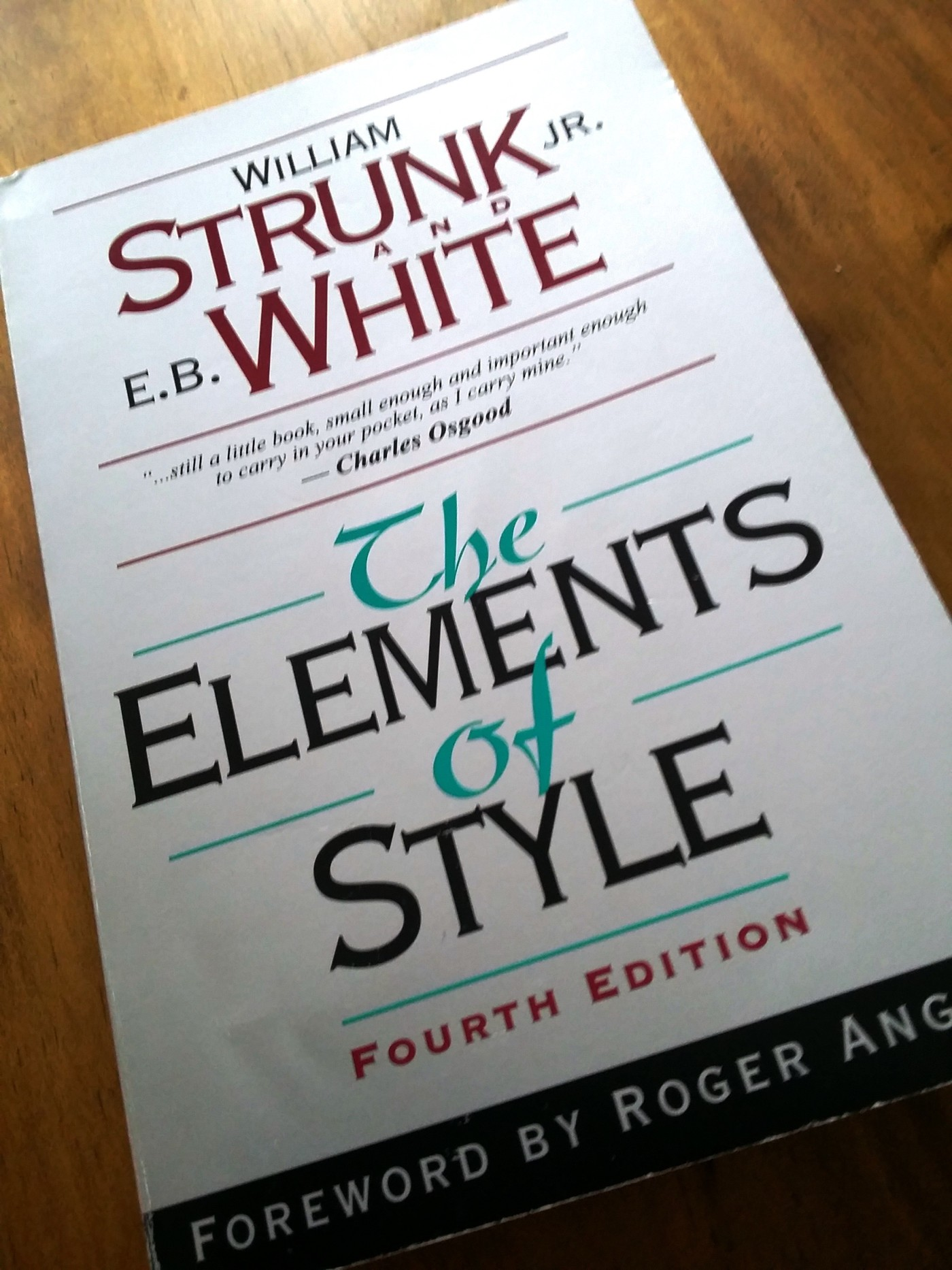 Struck and White's The Elements of Style