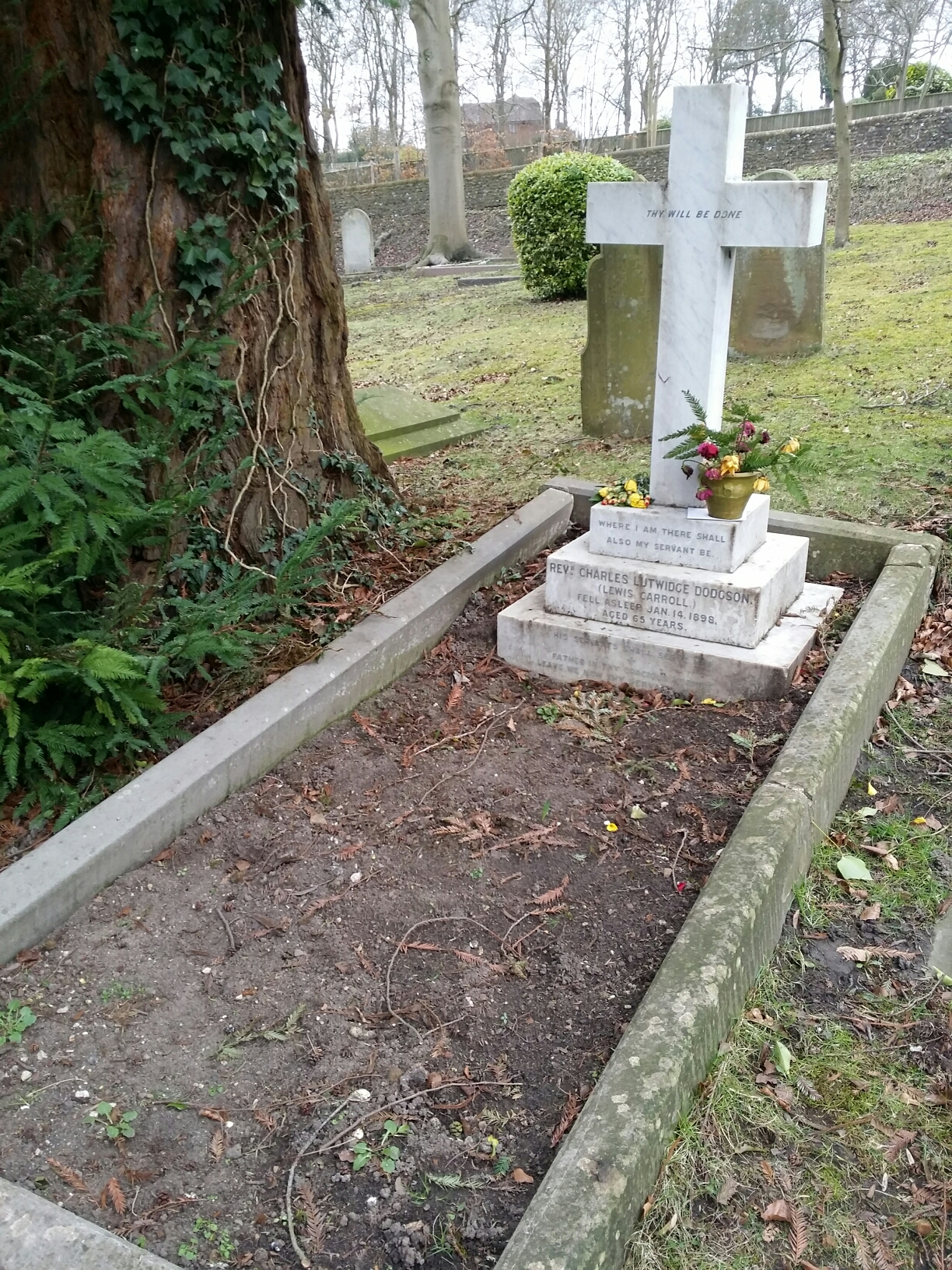 Lewis Carroll's Grave