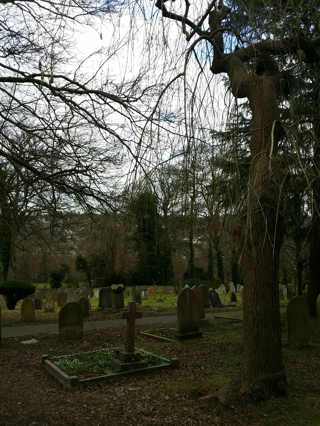 Guildford graveyard