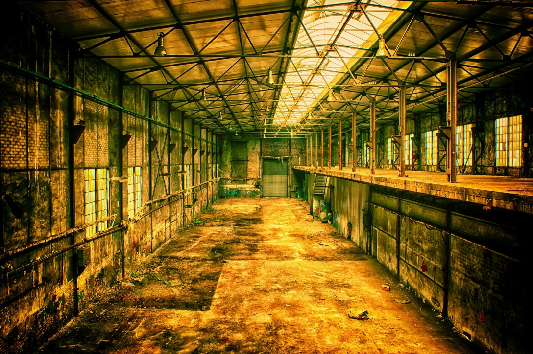 Image of empty building