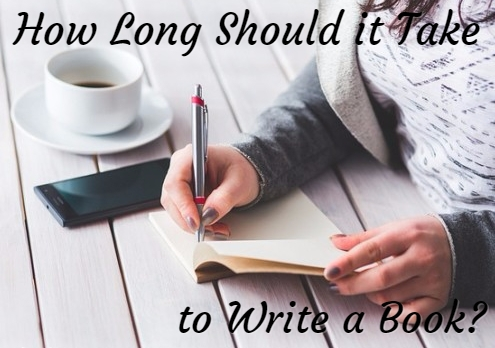 How long should it take to write a book