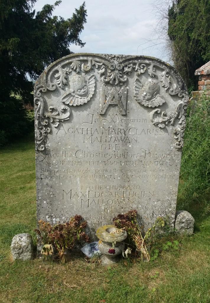 Agatha Christie's grave