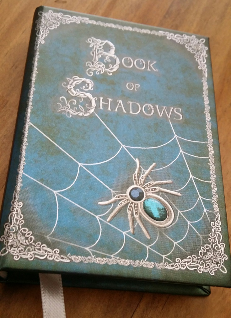 Book of Shadows notebook