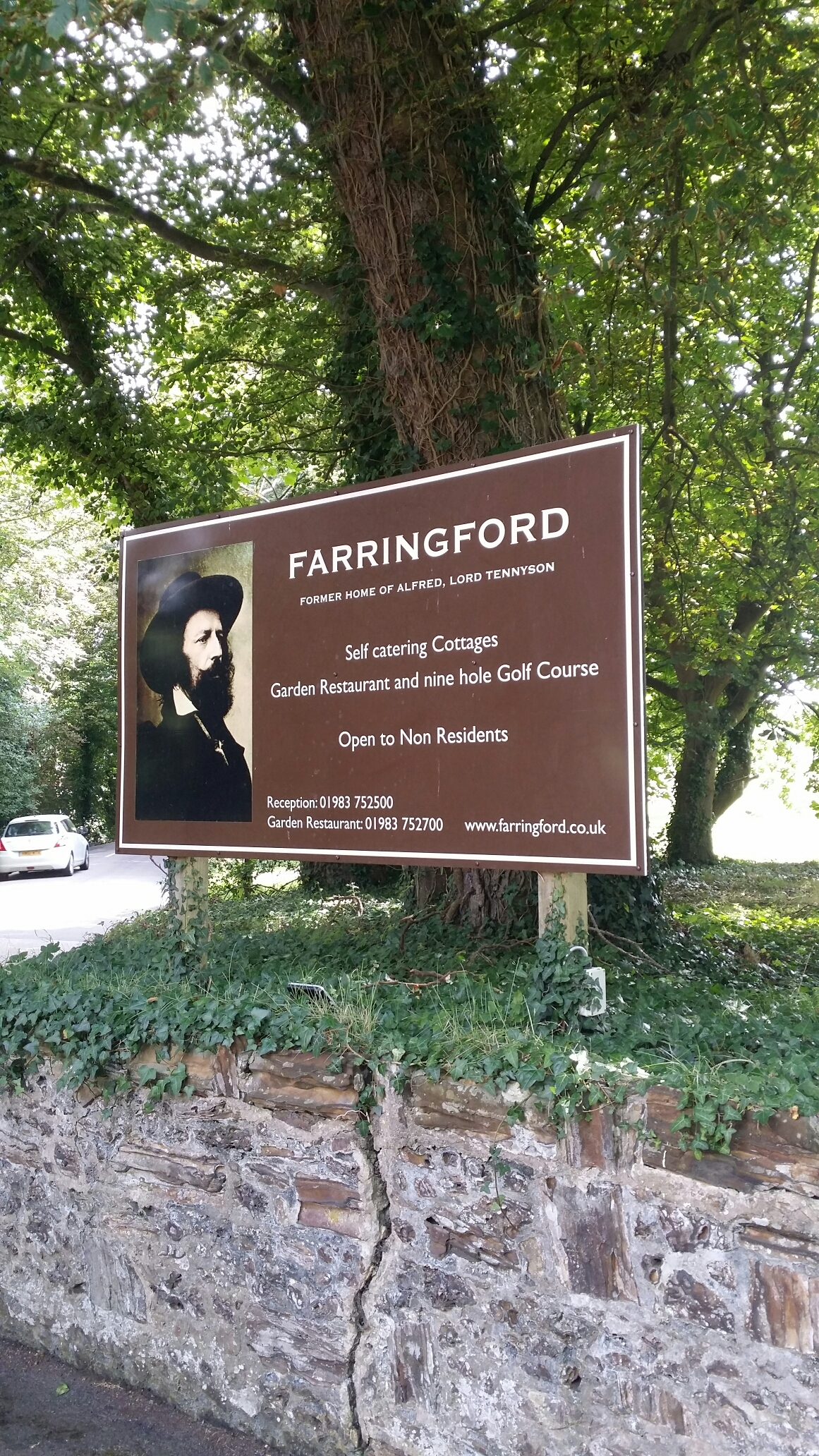 Farringford, home of Alfred Lord Tennyson