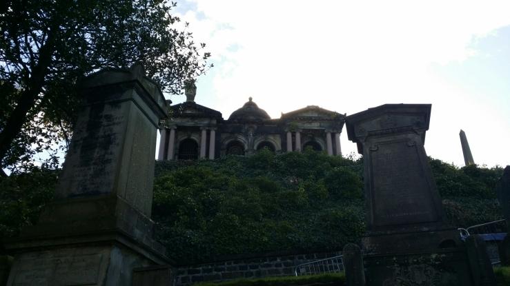 Mausoleum in Glasgow Necropolis