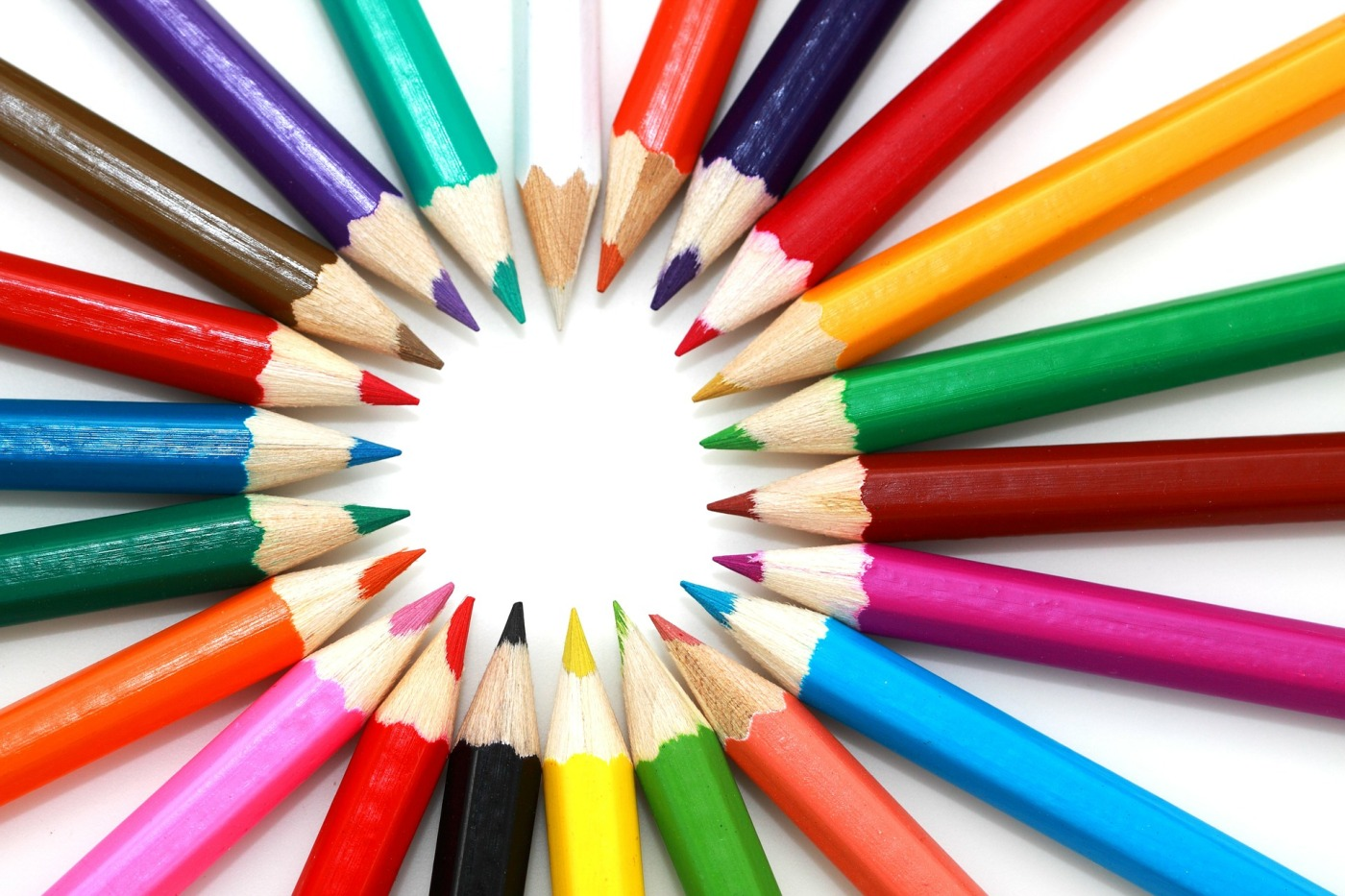 Image of colouring pencils