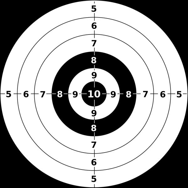 Gun target