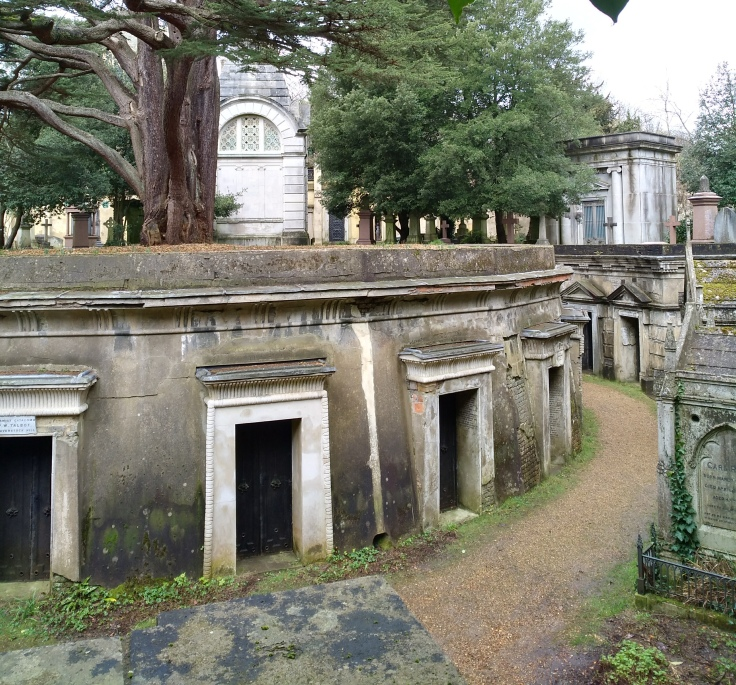 Image of Circle of Lebanon, Highgate Cemetery West