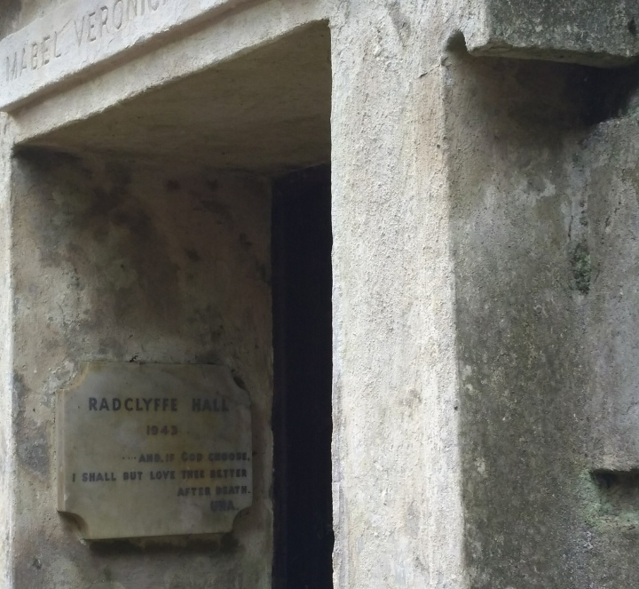 Radclyffe Hall's Tomb, Highgate