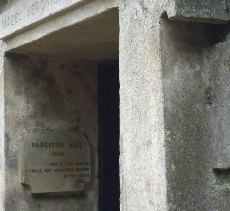 Radclyffe Hall's Tomb, Highgate