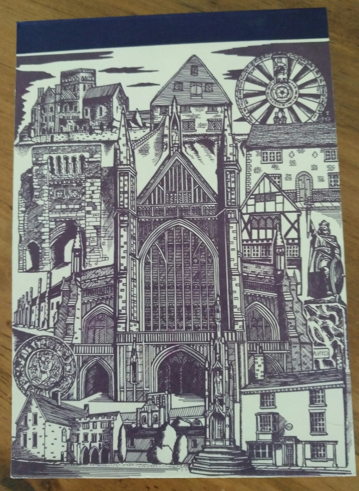 Winchester Cathedral notebook