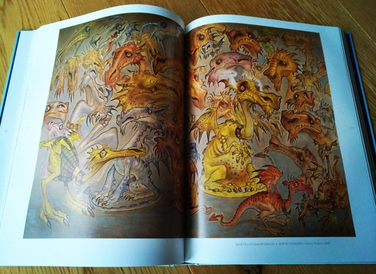 Varieties of Swamp Dragon, 2000, Paul Kidby