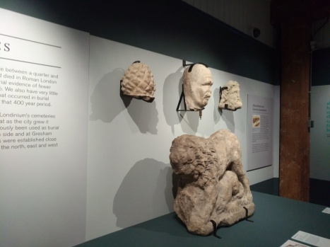 D Exhibition Docklands : Notebook collection: roman dead u2013 the museum of london docklands
