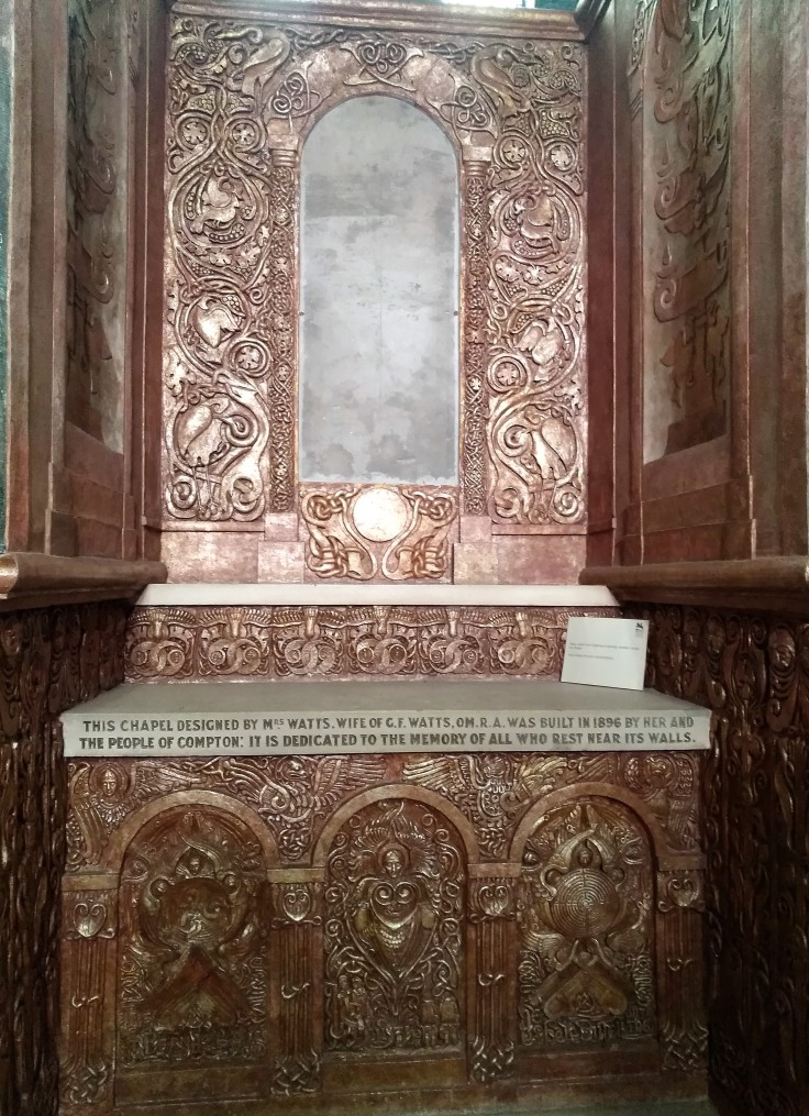 Alter in Watts Memorial Chapel