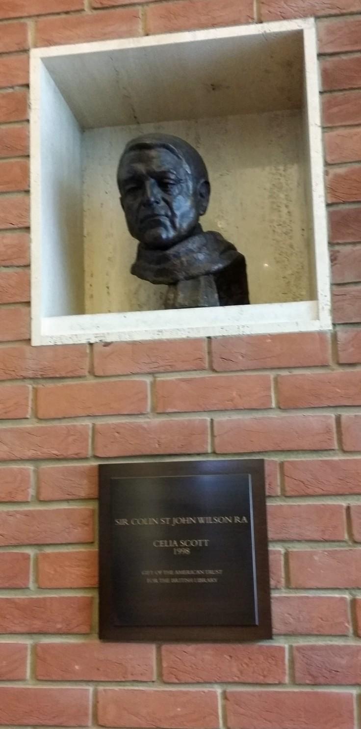 Bust of Colin St John Wilson