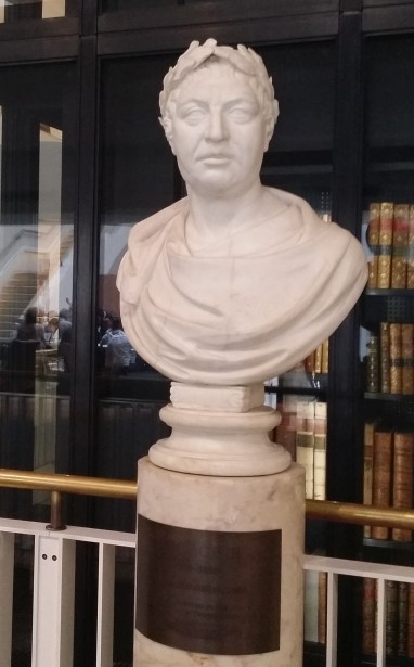Bust of King George - Edited